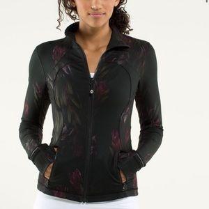 Lululemon Forme Jacket in Midnight Iris Floral sz4
